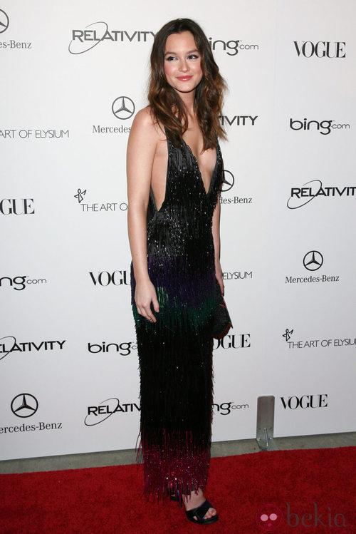 Leighton Meester, de Louis Vuitton, en la gala The Art of Elysium 2011