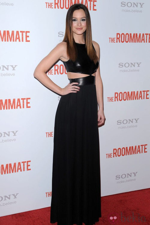Leighton Meester, de Michael Kors, en la première de 'The roommate'