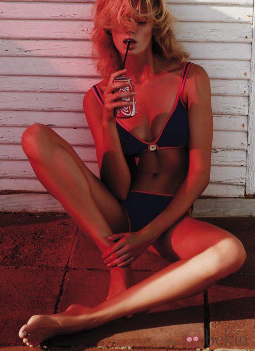 Bikini azul de la colección 'Ipanema' de Andrés Sardá para el verano 2015
