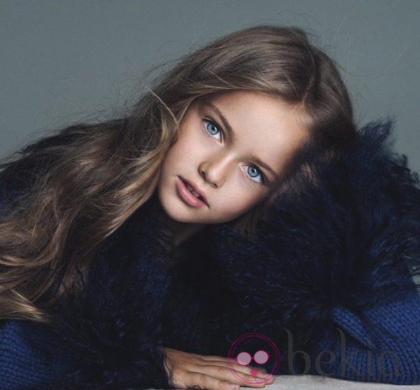 Kristina Pimenova, la niña más guapa del mundo