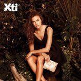 Irina Shayk con manoletinas de la colección primavera/verano 2015 de Xti