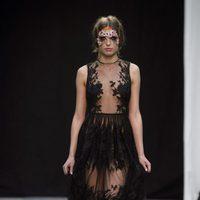 Vestido Medusa de Charo Ruiz en el desfile de Maybelline de Madrid Fashion Show Woman