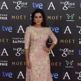 Inma Cuesta con un vestido de Heaven by Dolores Promesas en la alfombra roja de los Premios Goya 2015