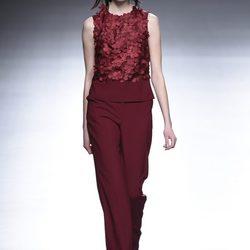 Desfile de la colección otoño/invierno 2015/2016 de Ángel Schlesser en la Madrid Fashion Week