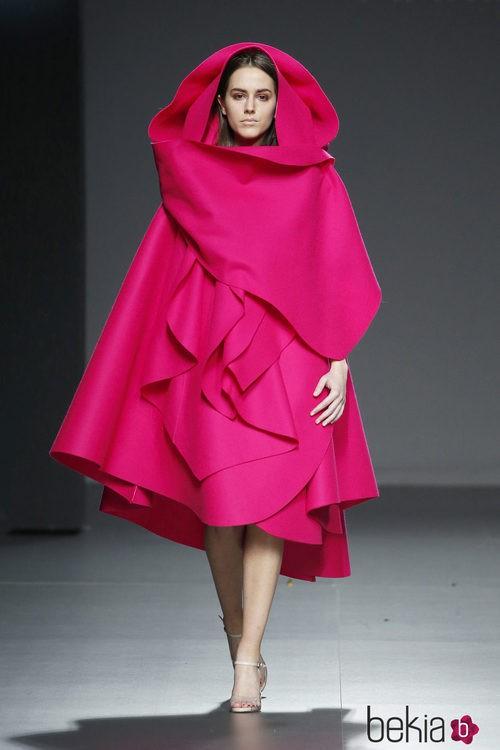 Diseño en fucsia de María Clé Leal en el Samsung Ego 2015