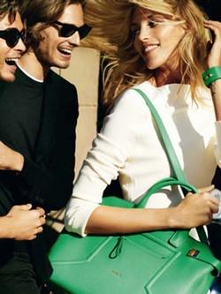 Bolso en verde de la colección primavera/verano 2015 de Furla