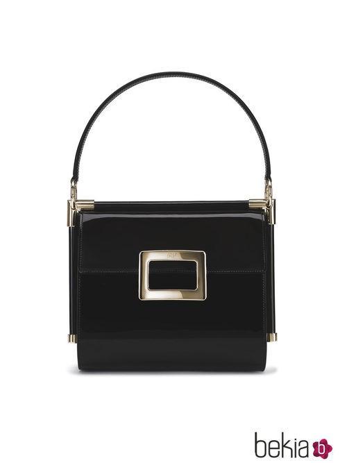 Bolso Miss Viv negro de la colección primavera/verano 2015 de Roger Vivier