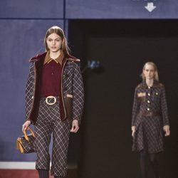 Desfile de Tommy Hilfiger de la colección otoño/invierno 2015/2016 en Nueva York Fashion Week