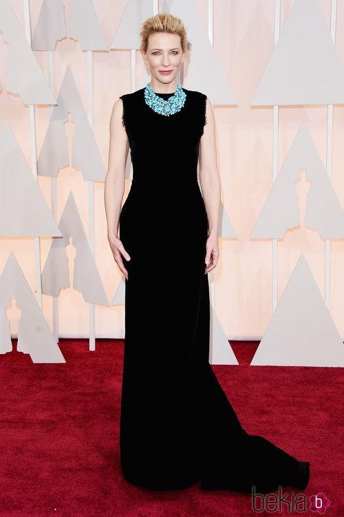 Cate Blanchett posa en la alfombra roja con un diseño de John Galliano para Maison Margiela
