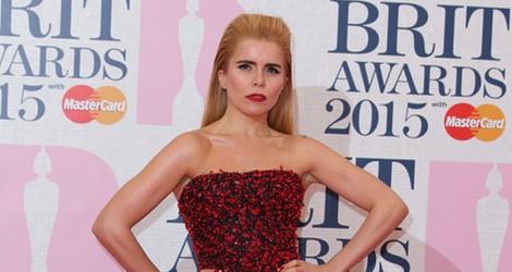 Paloma Faith en los Brit Awards 2015 con un vestido de Armani Privé