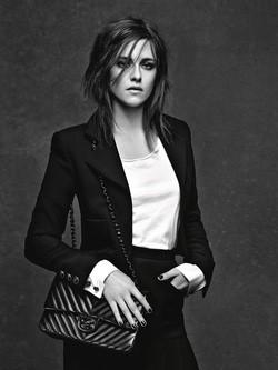 Kristen Stewart, una de las musas de la campaña de Chanel '3 Chicas, 3 Bolsos'