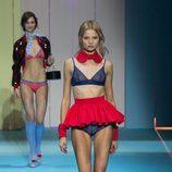 Lencería en color azul de Etam en la antesala de la pasarela Paris Fashion Week 2015