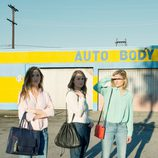 Las hermanas Gummer en el 'shooting' de la campaña primavera/verano 2015 de & Other Stories