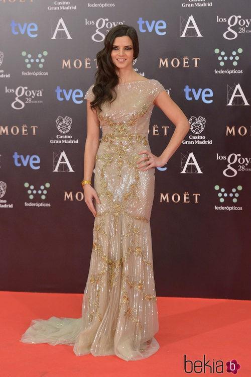 Clara Lago con un vestido de Zuhair Murad en los Goya 2014