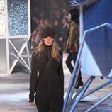Chándal gris plomo de H&M en Paris Fashion Show otoño/invierno 2015/2016