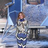 Pantalón de estampado geométrico de H&M en Paris Fashion Show otoño/invierno 2015/2016