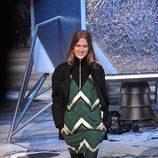 Vestido de estampado geométrico de H&M en Paris Fashion Show otoño/invierno 2015/2016