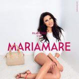 Pilar Rubio con sandalias planas de la colección primavera/verano 2015 de Maria Mare