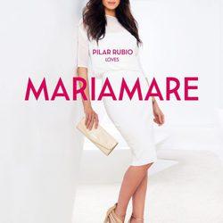 Pilar Rubio presenta la colección primavera/verano 2015 de Maria Mare