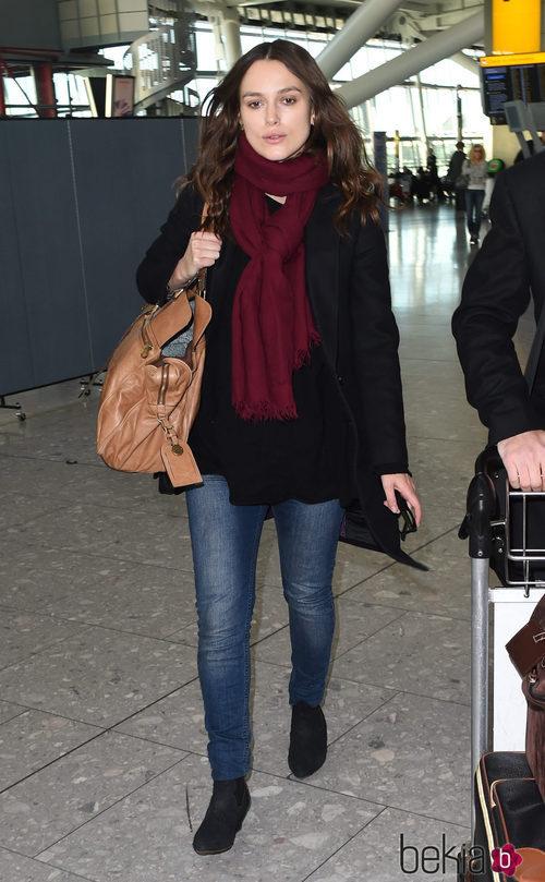 Keira Knightley con look casual