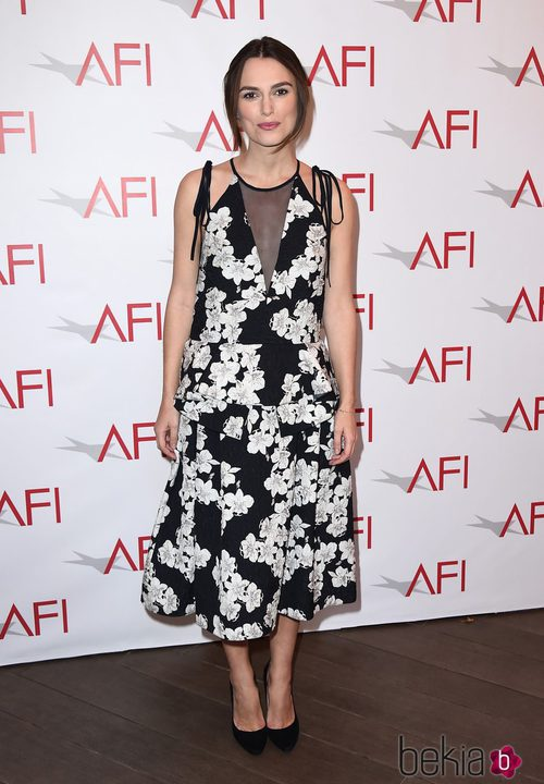 Keira Knightley con vestido de Pre-Fall de Erdem
