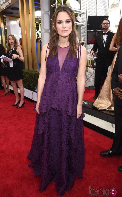Keira Knightley con un vestido de Erdem