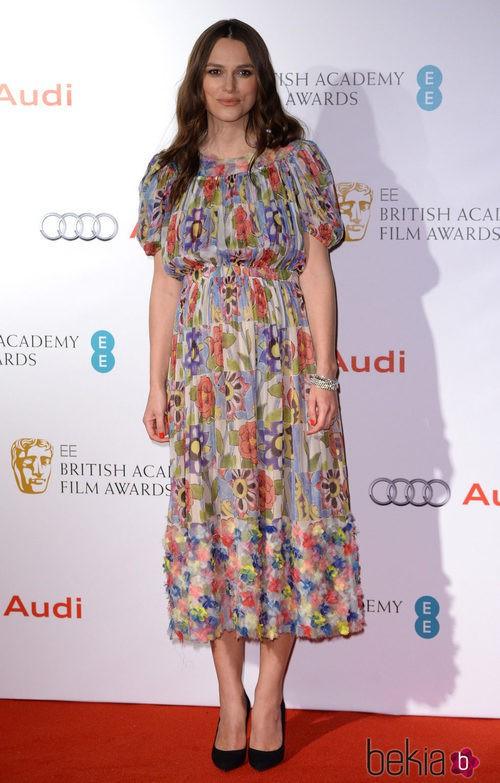 Keira Knightley en los British Television Academy Awards