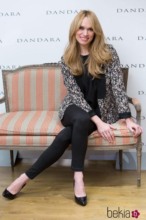 Patricia Conde luciendo un look de primavera de Dándara