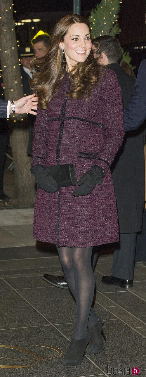 Kate Middleton con abrigo de Seraphine