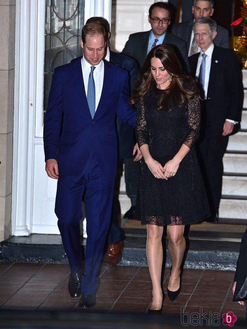 Kate Middleton con vestido de Amara de Belulah