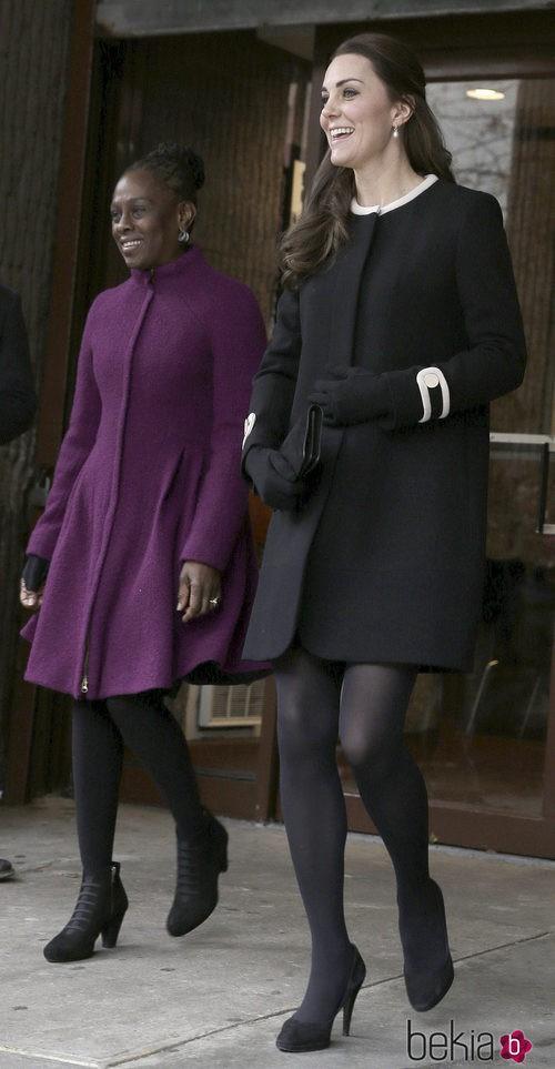 Kate Middleton con abrigo de Goat