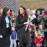 Kate Middleton con vestido de Hobbs