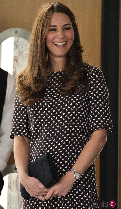 Kate Middleton con vestido de Alice Temperley