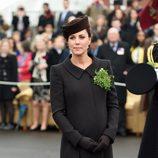 Kate Middleton con vestido  de Catherine Walker