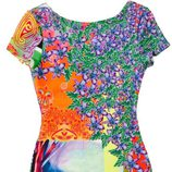 Vestido con variedad de estampados de la colección primavera/verano 2015 de Barbarella