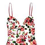 Vestido de escote corazón de la colección primavera/verano 2015 de Barbarella