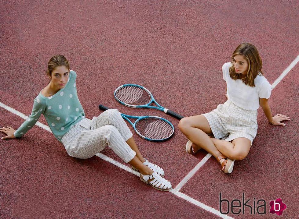 Modelos 'Vintage Tennis' de la colección estival de Nice Things