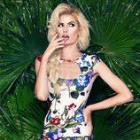Adriana Abenia, imagen de la colección primavera/verano 2015 de Barbarella