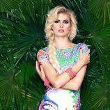 Adriana Abenia con la colección primavera/verano 2015 de Barbarella