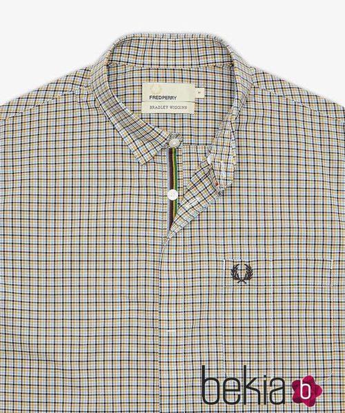 Camisa de cuadros para hombre de la colección primavera/verano 2015 de Fred Perry