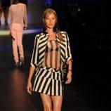Gisele Bundchen desfilando para Colcci en la Semana de la Moda de Sao Paulo verano 2011