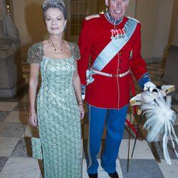 Los looks de la realeza en el cumpleaños de la reina Margarita de Dinamarca
