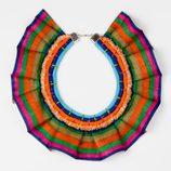 Collar multicolor de la colección 'La Ruta de la Seda' de OKKRE