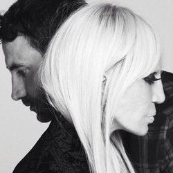 Donatella Versace y Riccardo Tisci para la temporada otoño/invierno 2015/2015 de Givenchy