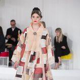 Vestido al estilo 'patchwork' de la colección Crucero 2015/2016 de Chanel