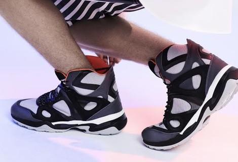 El diseñador Alexander McQueen colabora por segunda vez con la firma deportiva Puma