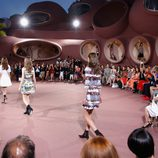 Carrusel de la colección Crucero 2015 de Dior en el Palacio de Burbujas de Cannes