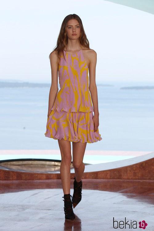 Vestido plisado de la colección Crucero 2015 de Dior