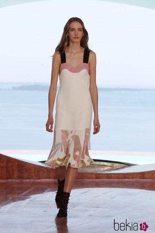 Vestido con falda plisada de la colección Crucero 2015 de Dior