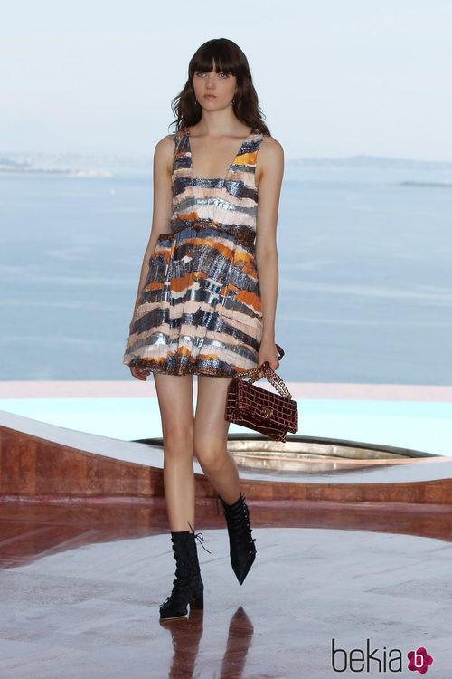 Vestido con brillos de la colección Crucero 2015 de Dior